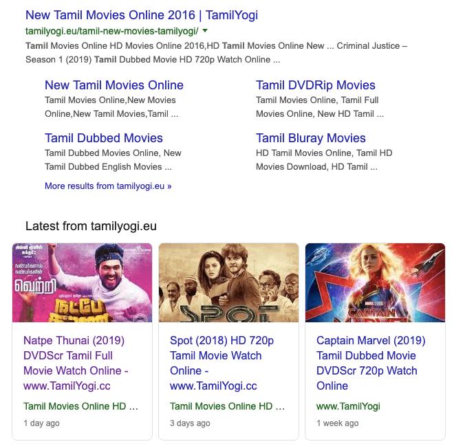 Tamilyogi 2019 - Download FULL Leaked Tamil Movies on